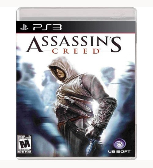 Jogo Assassins Creed Playstation 3, Lacrado, Midia Fisica