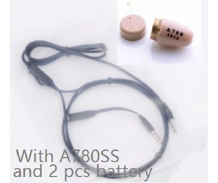 Fone Ouvido Sem Fio Invisível Micro Escuta Ponto Espião Mp3