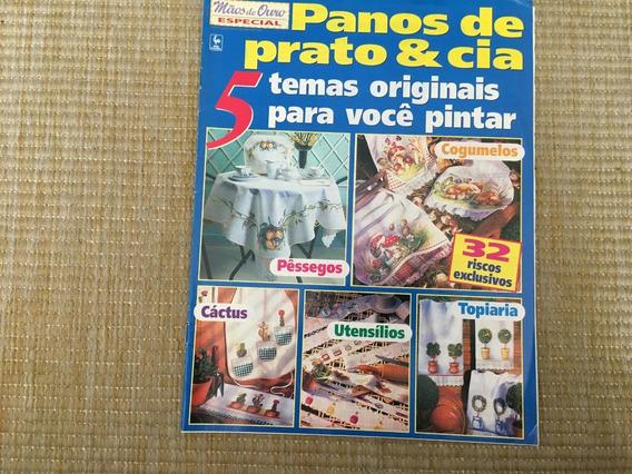 Revista Mãos De Ouro Panos De Prato Pinturas Toalhas L716