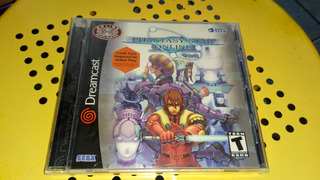 Sega Dreamcast Phantasy Star Online Ver 2 Nuevo Sellado