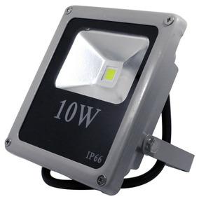 Refletor De Led 10 Watts Bivolt 110 E 220v Verde