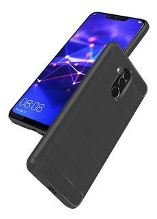 Funda Huawei Carbon P10 P9 Y9 Mate 20 Lite Plus Pro P Smart