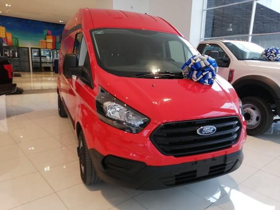 Ford Transit Van Larga Diésel A/a Roja 2020