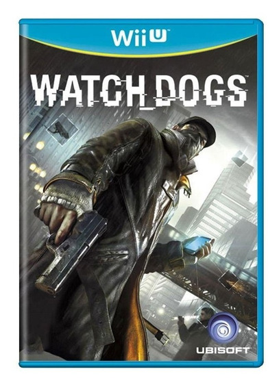 Watch Dogs Wii U Mídia Física Pronta Entrega