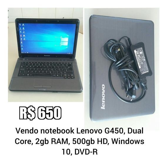 Notebook Lenovo G450