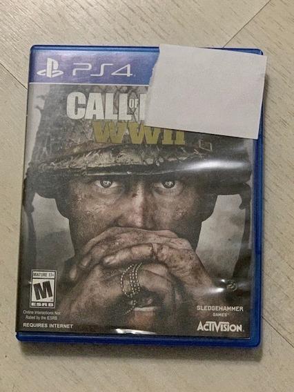Call Of Duty Ww2 Ps4 World War 2 Cod Ww2 Físico Seminovo