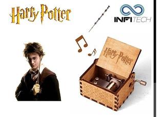 Caja Musical Harry Potter Manivela El Mejor Regalo