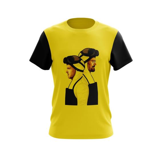 Camiseta Personalizada Criativa Breaking Bad D741cb