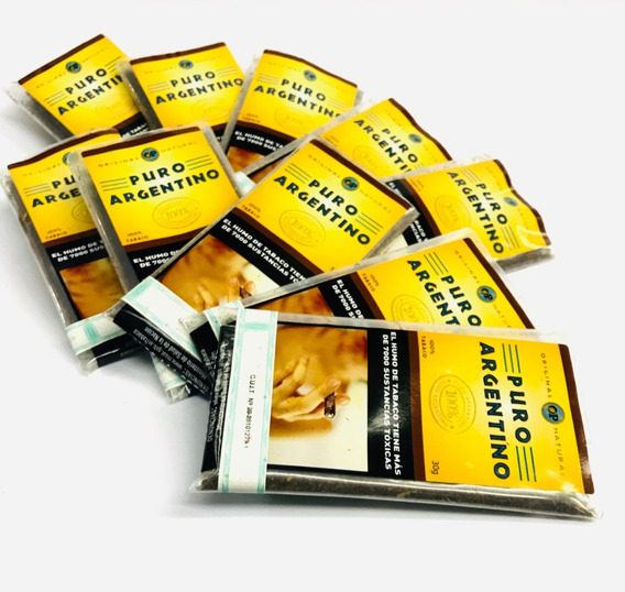 Tabaco Puro Argentino 30gr -local Once
