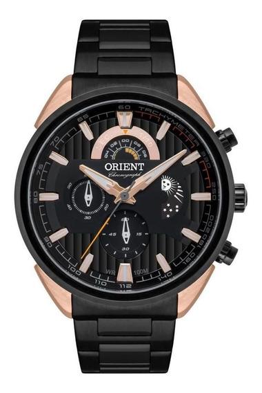Relógio Masculino Bicolor Cronógrafo Orient Mtssc025 P1px