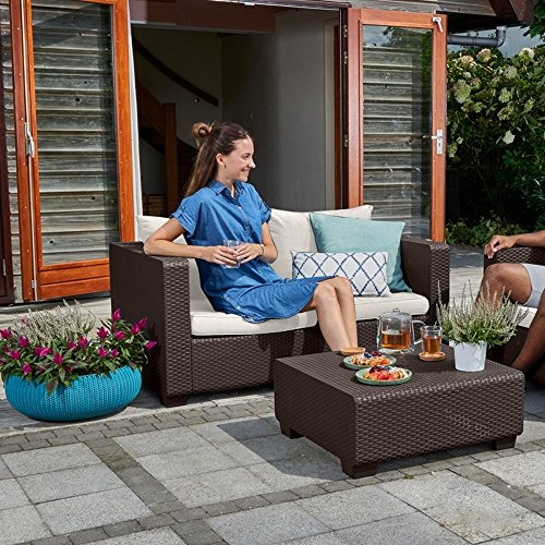 Keter Salta All Weather Outdoor Patio, All Weather Outdoor Furniture