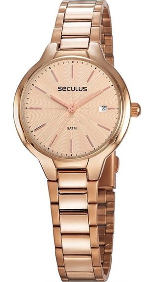 Relógio Feminino Rosê Seculus A Prova D