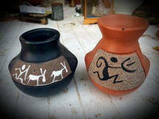 Arte Indigena En Ladrillo
