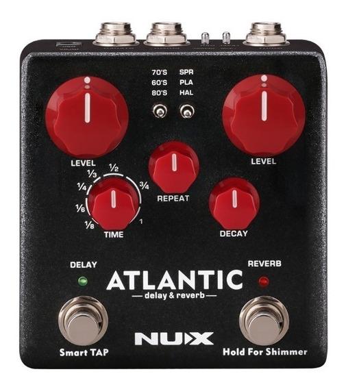 Pedal Nux Atlantic Delay & Reverb Lançamento