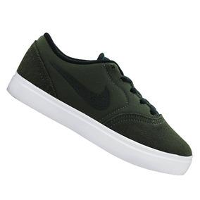 Tênis Nike Infantil Menino Sb Check Verde 705267300 Original