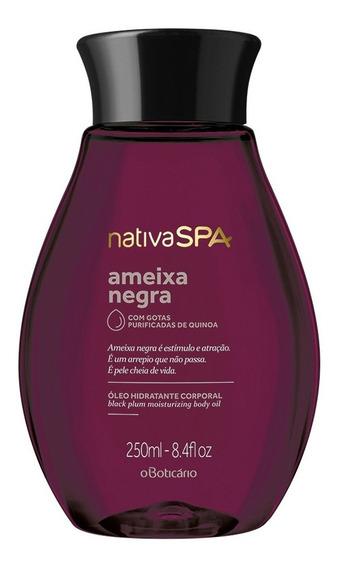 Nativa Spa Óleo Desodorante Corporal Ameixa Negra 250ml
