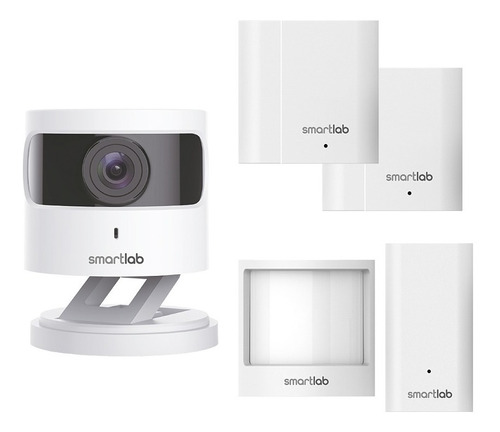 Imagen 1 de 4 de Kit Seguridad (cámara + 2 Sensores De Movimiento) - Smartlab