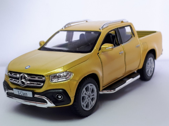 Miniatura Pick-up Mercedes-benz X-class 1.42 Brinquedo Metal