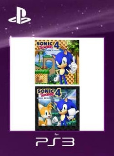 Sonic The Hedgehog 4 Pack Español Ps3