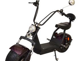 Bicicleta Moto Chopper Elétrica 1500w Bordô