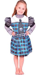 Disfraz Frankie Monster High Talle 1 Mattel 3 / 4 Años