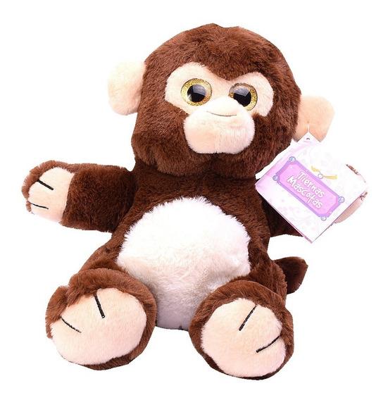 Peluche Mono 25 Cm Tiernas Mascotas El Duende Azul