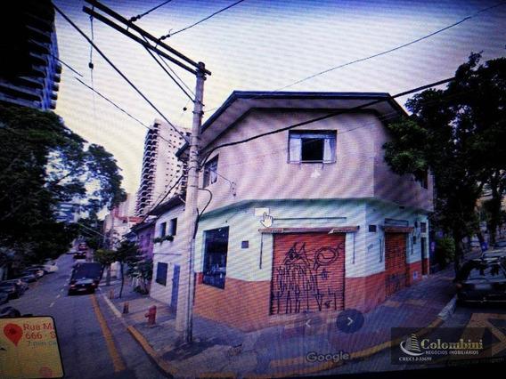 Salão Para Alugar, 60 M² Por R$ 2.500,00/mês - Santa Paula - São Caetano Do Sul/sp - Sl0077