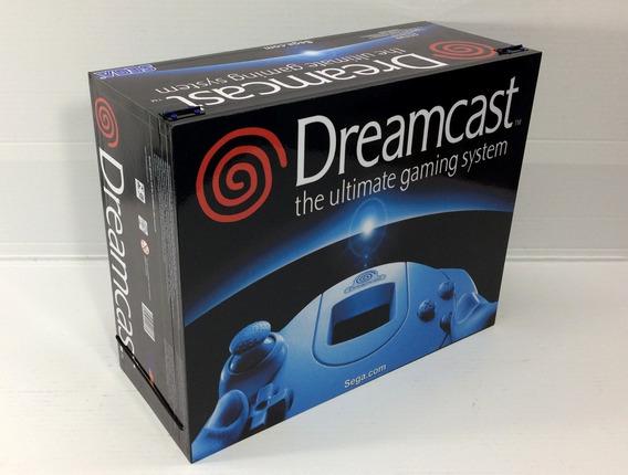 Caixa Vazia Sega Dreamcast Americano De Madeira Mdf