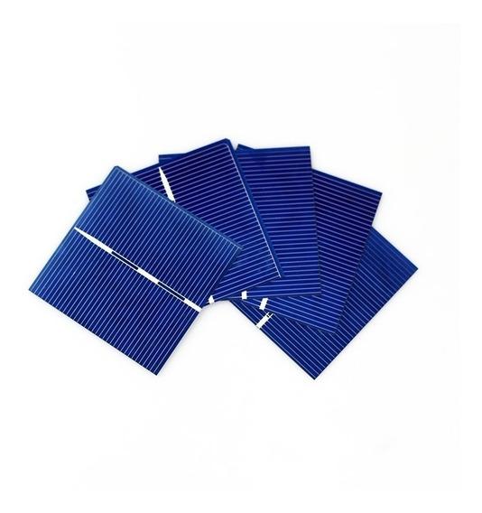 Kit 50 Celda Panel Solar 0.5 V 0.49 W 52mmx52mm
