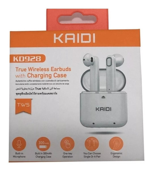 Fone Kd928 True Wireless Earbuds Witch Charging Case