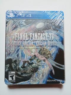 Final Fantasy Xv 15 Deluxe Edition Ps4 Nuevo Y Sellado