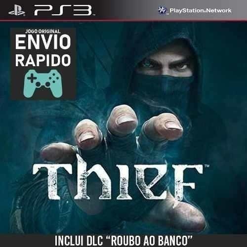 Imagem 1 de 1 de Thief + Dlc Assalto Ao Banco Jogos Ps3
