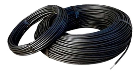 Cable Alta Tension Doblemente Aislado Cerco Electrico 25 Mt