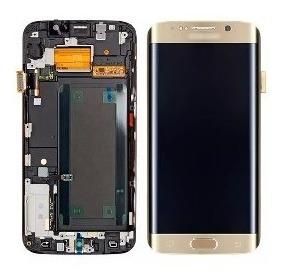 Pantalla Samsung S7 Edge Con Marco Y Bisel Somos Tienda