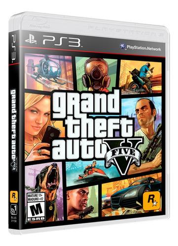 Imagen 1 de 10 de Gta V Grand Theft Auto 5 Formato Físico Ps3
