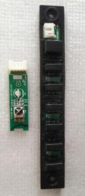 Kit Teclado + Sensor De Comando Tv Cce Lh42g