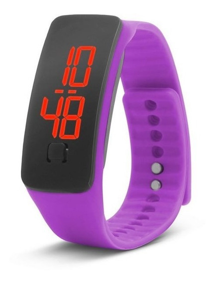 Reloj Led Touch Digital Moda Unisex Deportivo Barato Colores