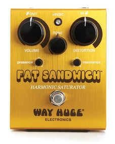 Pedal Way Huge Fat Sandwitch Dunlop+ Nf E Garantia