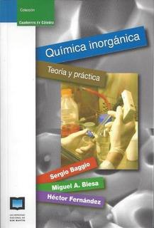 Química Inorgánica, Blesa / Baggio, Ed. Unsam