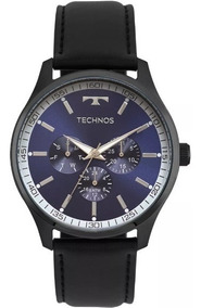 Relógio Technos Masculino Sport Pulseira Couro 6p29ajp2a