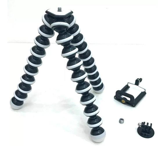 Mini Tripé Flexível Ajustável Regulador Móv P/celulares F113
