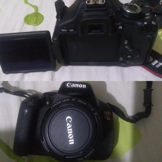 Equipamento Fotográfico Canon T3i, Objetivas E Acessórios