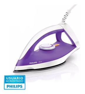 Plancha Seca Diva Philips Gc122/30 Aluminio 1200w