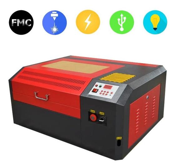 Máquina Láser 4040 50w Co2 Grabado Corte Rotativo Cilindros