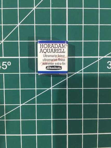 1/2 Pastilla Acuarelas Schmincke Horadam Ultramarine Finest