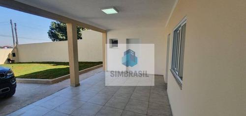 Imagem 1 de 8 de Casa Novíssima Em Monte Mor - Ca1377