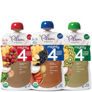 Snack Bebé Plum Organics Mighty4 - 4 Oz 18 Piezas Yogurt
