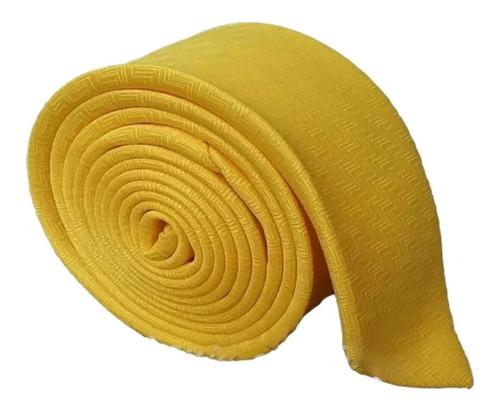 Corbatas - Amarilla Zig Zag Slim