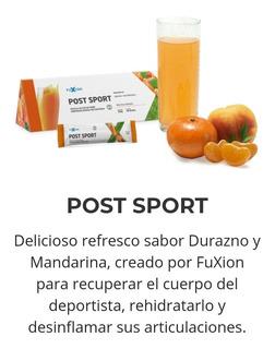 Fuxion Postsport Y Post Entreno, Sin Azucar Y Recuperador.