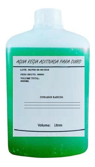 1l Agua Regia Aditivada Galvanoplastia Especial Para Ouro
